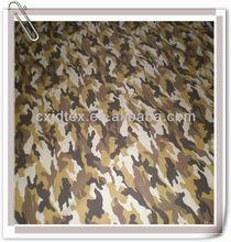 180T Polyester camouflage print waterproof tent taffeta fabric