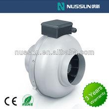 2015 hot sell 5'' ventilating fan hydroponics inline duct fan exhaust fan(DJT12U-35P)