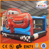 Inflatable red car Jumpers, Animated cartoon figures, characters