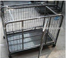 Hebei wire Gauge: 11#,12#,13#Size: 24L*18W*19H inch dog crate/weld dog cage/dog kennel/foldable dog cage