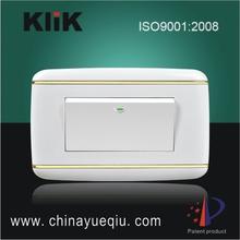 1 Gang 2 Way Safety light switch cover 6A 250V/10A127V