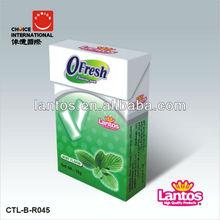 LANTOS BRAND fliptop menthol chewing gum
