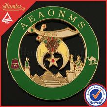 High quality masonic auto emblems