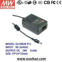Meanwell 15~18W AC-DC Single Output Desktop single switching power supply/switching power supply unit