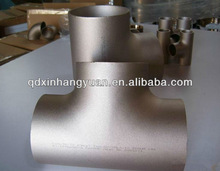 stainless steel 304/316l sanitary equal and reducing tee