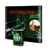 2013 New style single magnetic pop up display with colorful slider