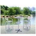 de aluminio de mesas y sillas de barras utilizado