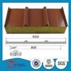 120kg/m3 fireproof rock wool roof sandwich panel