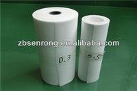 Luminescent plastic sheet