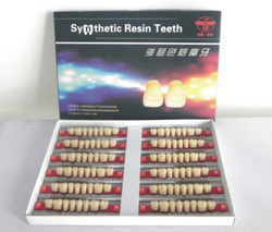Manufacturer of synthetic resin teeth with competitive price