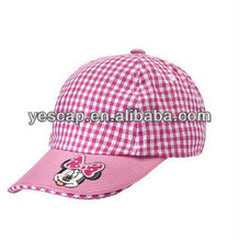 100% cotton cap/baby cotton hat/baseball kids cap