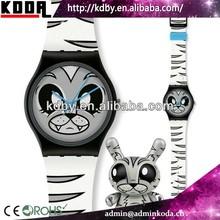 Brand Design Colorful Plastic Watch Cheap in Bulk