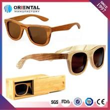 100% natural wholesale handmade wooden sunglasses