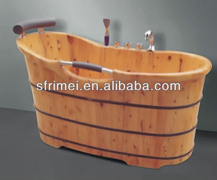 Nieuwe product badkamer ontwerp houten bad cannikin vat bad houten zitbad hot spa houten zwembad - Spa ontwerp ...