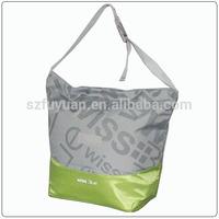 velcro closure crossbody insulated cooler bag