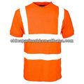 Mode 2013 en 471 klasse 2 3m reflektierende sicherheitsweste t- shirt