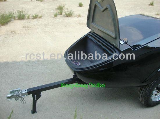 RC-MT-04 New model fiberglass motorcycle cargo trailers