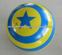 9inch phthalate free print Promotional pvc toy ball/skip ball/bouncing pvc toy ball