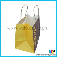 Shopping kraft paper handbag