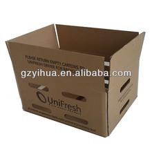 Custom printing banana packing carton box