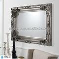 plata de alta calidad espejo de la pared proveedor con la certificación iso ccc del ce