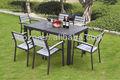 Nuovo arrivo! Legno rustico giardino saladapranzo e tavolo/ristorante set
