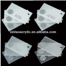 White Led Ultra-thin Acrylic Sheet