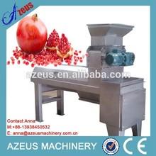 Pomegranate peeling machine and pomegranate crushing machine for fresh pomegranates seeds