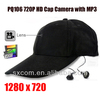 720P Hidden Camera HD Cap Camera Video Recorder DVR MP3 Player w/ Remote Control