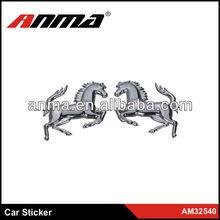 New design silver decorative car stickers