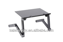 JLT aluminum laptop table/multifunctional bed tray/portable computer table