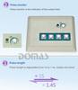 Mini body tens/ems massager stimulator SM9366 health & personal care handheld