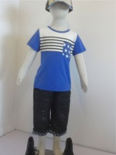 blue t shirt for children perfect for retail