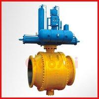 Extended stem Underground full welded ball valve