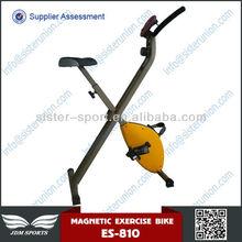 Fashion ES810 high quality oem fitness manufacturers foldable magnetic bike exercise bike elliptical bike