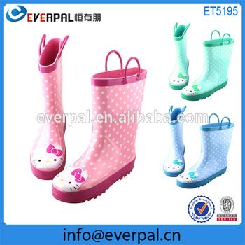 ladies fashion rubber rain boots 2014 plastic boots for rain