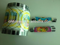 plastic film for PP or PE cup
