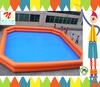 2014 new giant cheap 0.9 mm PVC inflatable swimming pool for hot summer