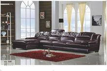 Preferiti di lusso mobili soggiorno/2125# divano in pelle di lusso