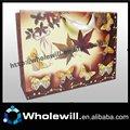 2014 elegant Schmetterling papiertüte, papier beutel für die verpackung und geschenkartikel