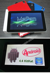 "Fashion android Tablet MaPan ATM7029B QUAD CORE KitKat / 10"" android tablet PC"