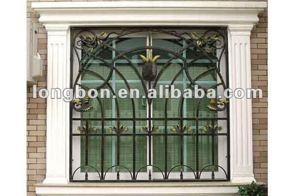 Top selling modern metal window grills design buy metal for Window design steel