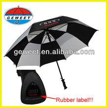 2014 new style double layer golf umbrella