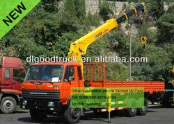 Dongfeng 12T truck with crane 0086-13635733504