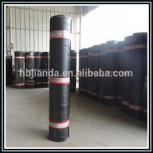Asphalt based modified asphalt waterproof coiled materials