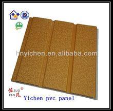 2014 golden design 2 groove lamination pvc cwall panel 300*9mm