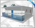بناء المنازل الجاهزة السكنية الصغيرة بالقرب من البحر