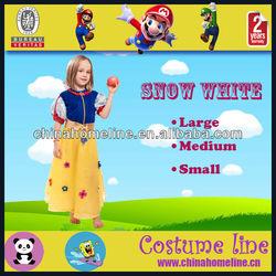 Cartoon Kids Snow White Halloween Costume