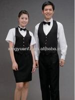 Western Restaurant Waiter Uniform