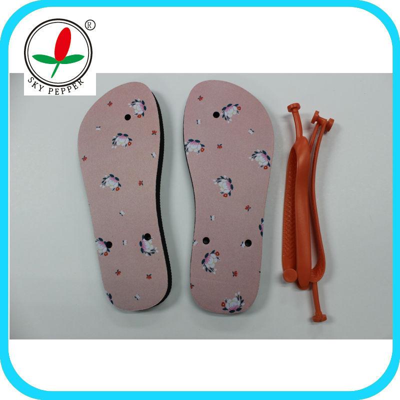 sublimation flip flop slipper
